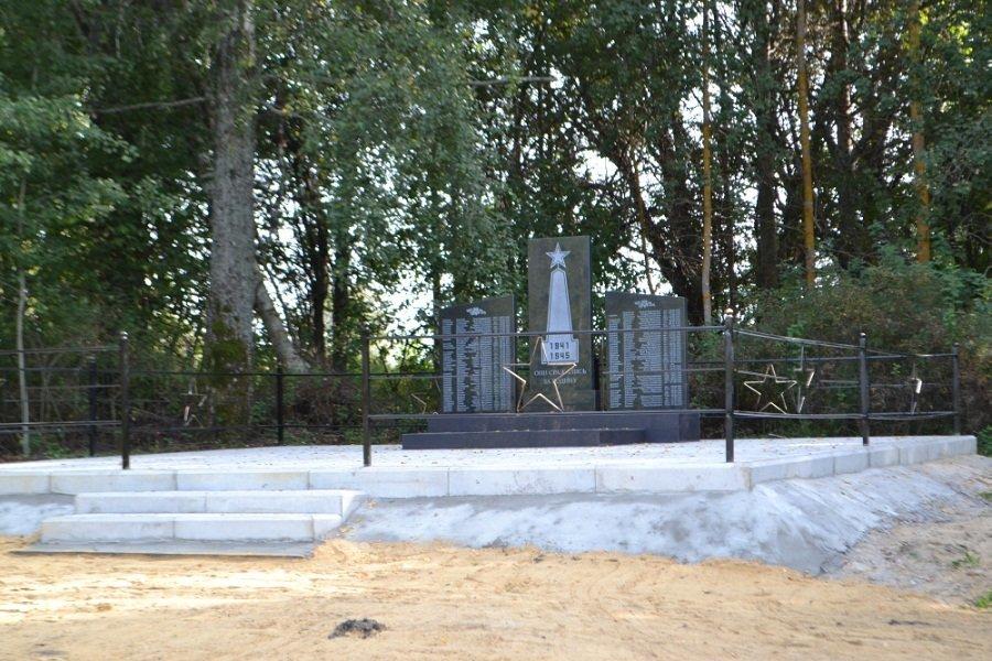 В Знаменском районе реконструированы два воинских захоронения, фото-4