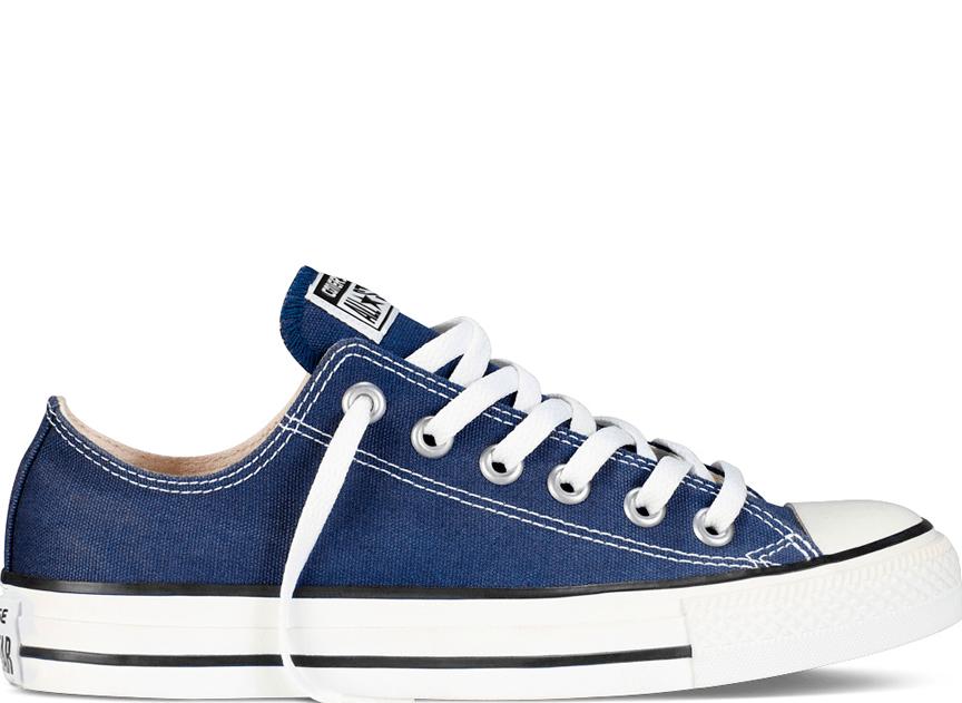 Синие кеды Converse – ярко и стильно